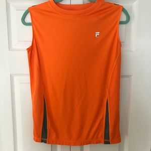 FILA FLOURESCENT ORANGE TOP